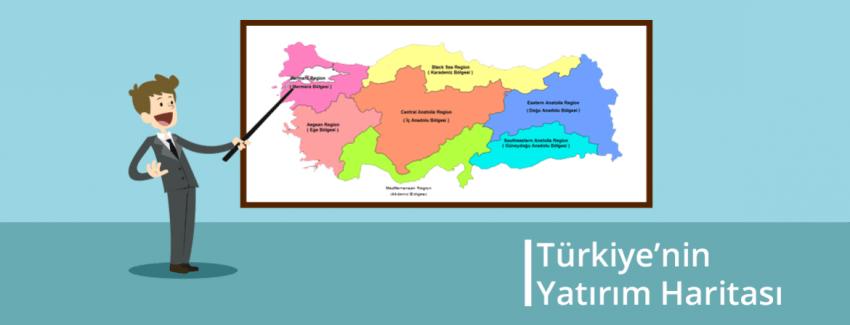 Türkiye'nin Yatırım Haritası