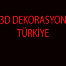 3D Dekorasyon Kocaeli Bayilik