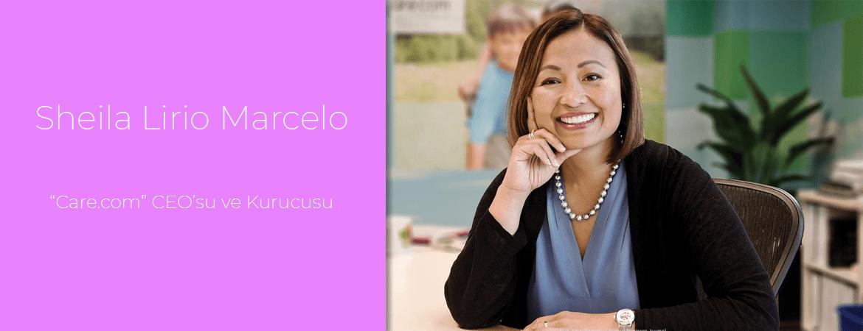 """Sheila Lirio Marcelo: """"Care.com"""" CEO'su ve Kurucusu"""