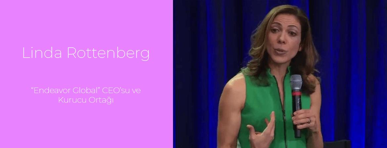 "Linda Rottenberg: ""Endeavor Global"" CEO'su ve Kurucu Ortağı"