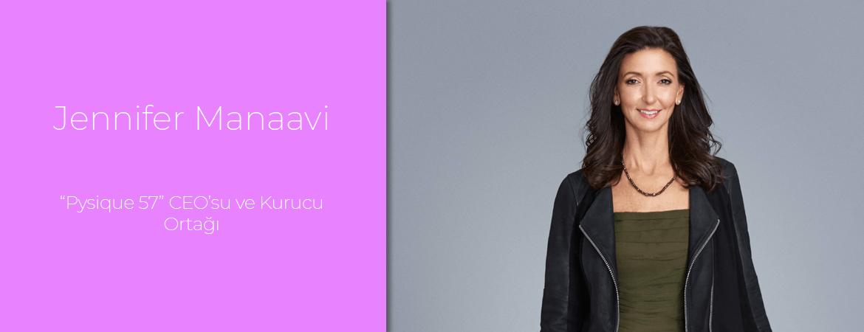 """Jennifer Manaavi: """"Pysique 57"""" CEO'su ve Kurucu Ortağı"""