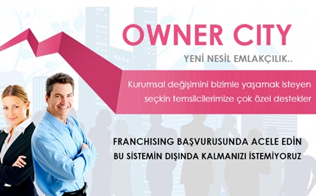 Owner City Emlak Bayilik – Owner City Bayilik Bilgileri