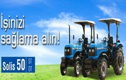 Solis Traktör Bayilik ve Yetkili Servis Başvurusu