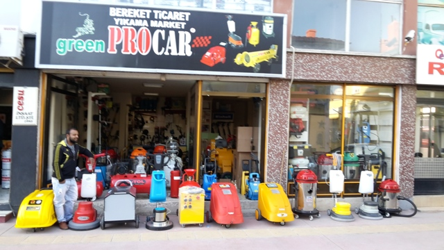 Bereket ticaret (greenprocar) Oto yıkama makineleri bayilik bilgileri