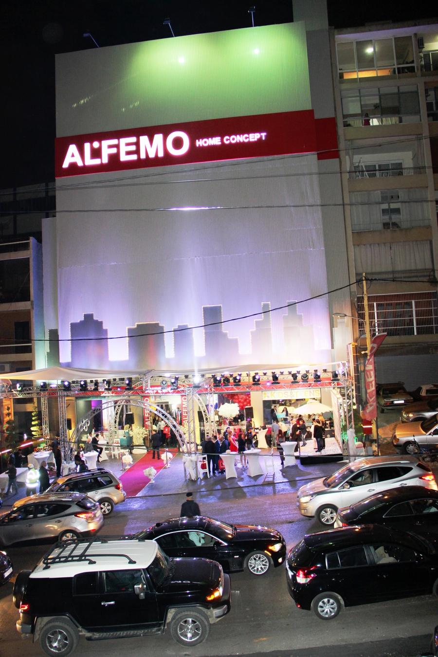 ALFEMO, LÜBNAN'da DEV BİR MAĞAZA AÇTI