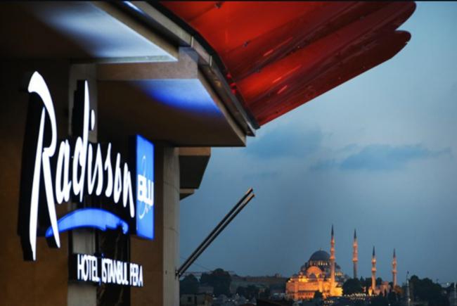 Radisson Blu Hotel İstanbul Pera Yılın Franchise Oteli Ödülünü Aldı