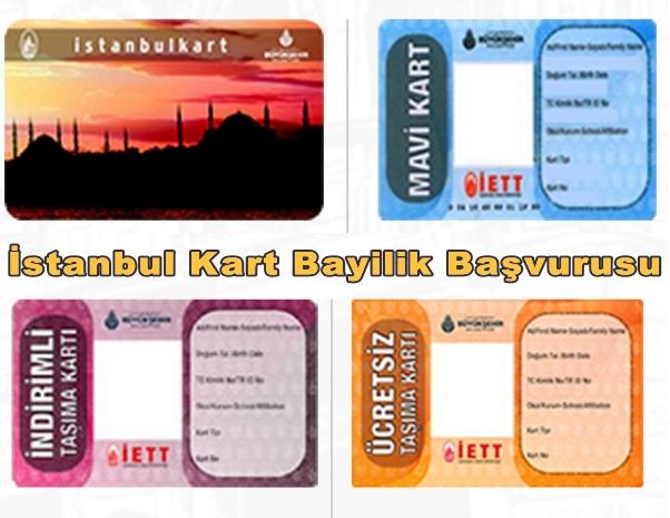 İstanbul Kart Bayilik ve Bayilik Başvurusu