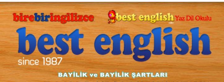 Best English Yabancı Dil Kursu Bayilik ve Bayilik Şartları