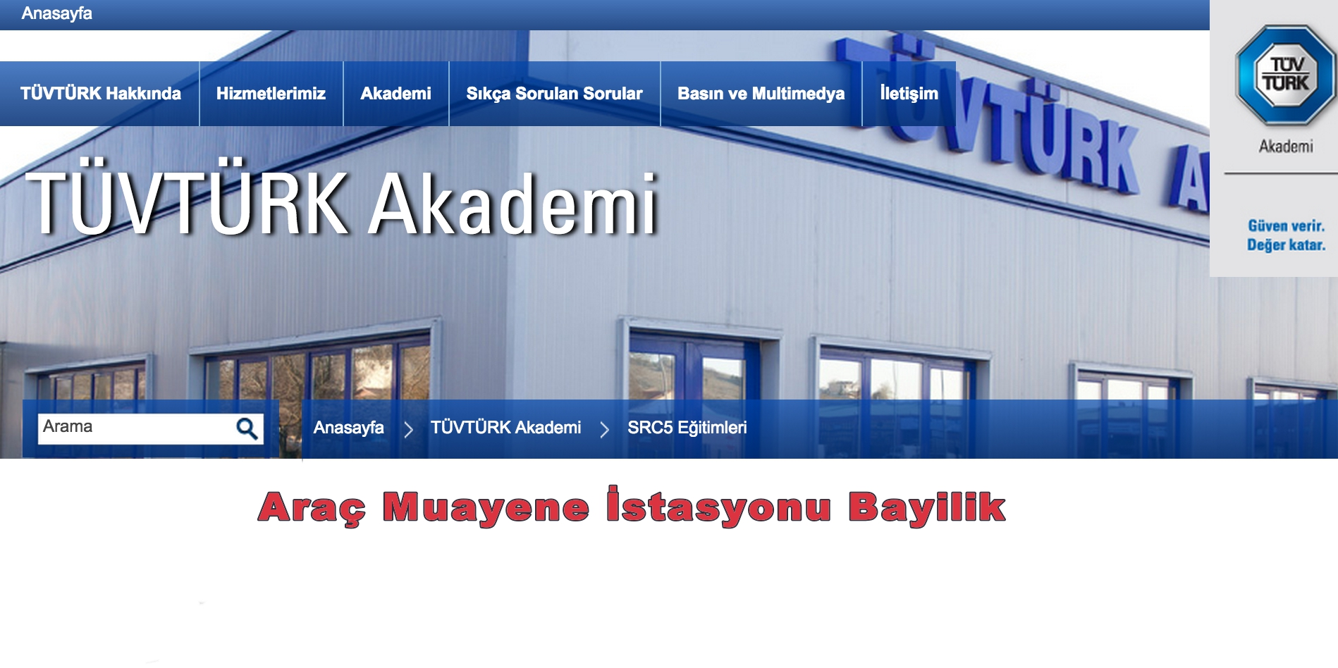 Tüvtürk Araç Muayene İstasyonu Bayilik ve Tüvtürk Bayilik