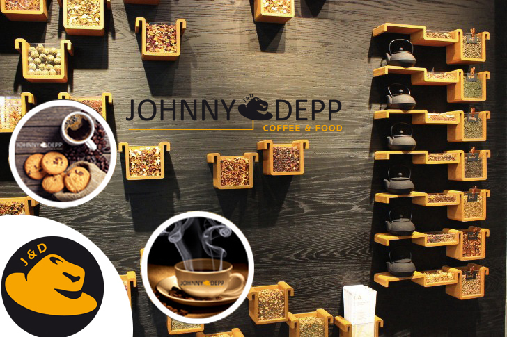 JOHNNY DEPP COFFEE & FOOD BAYİLİK VERİYOR