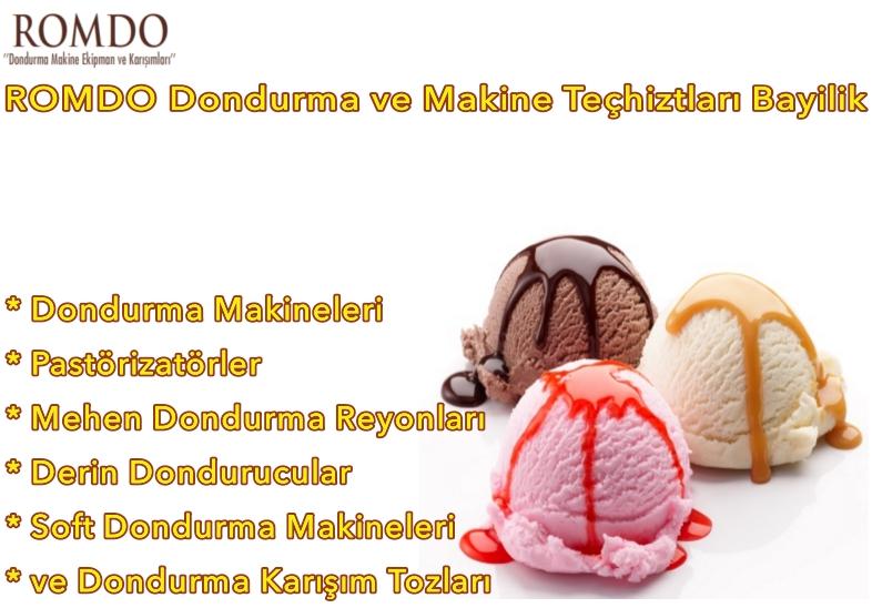 Romdo Dondurma Bayilik ve Bayilik Şartları