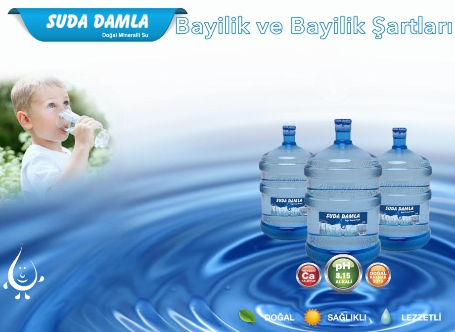 Suda Damla Su Bayilik ve Bayilik Şartları
