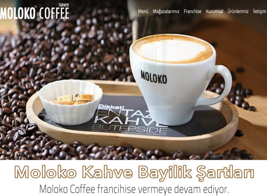 Moloko Kahve Bayilik ve Bayilik Şartları