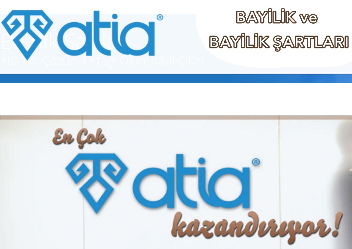 Atiasoft Ticari Yazılım Bayilik ve Bayilik Şartları