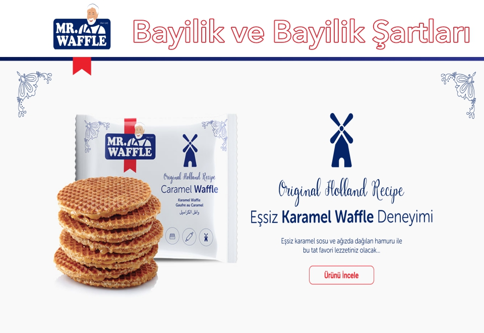 Mr.Waffle Bayilik ve Bayilik Şartları